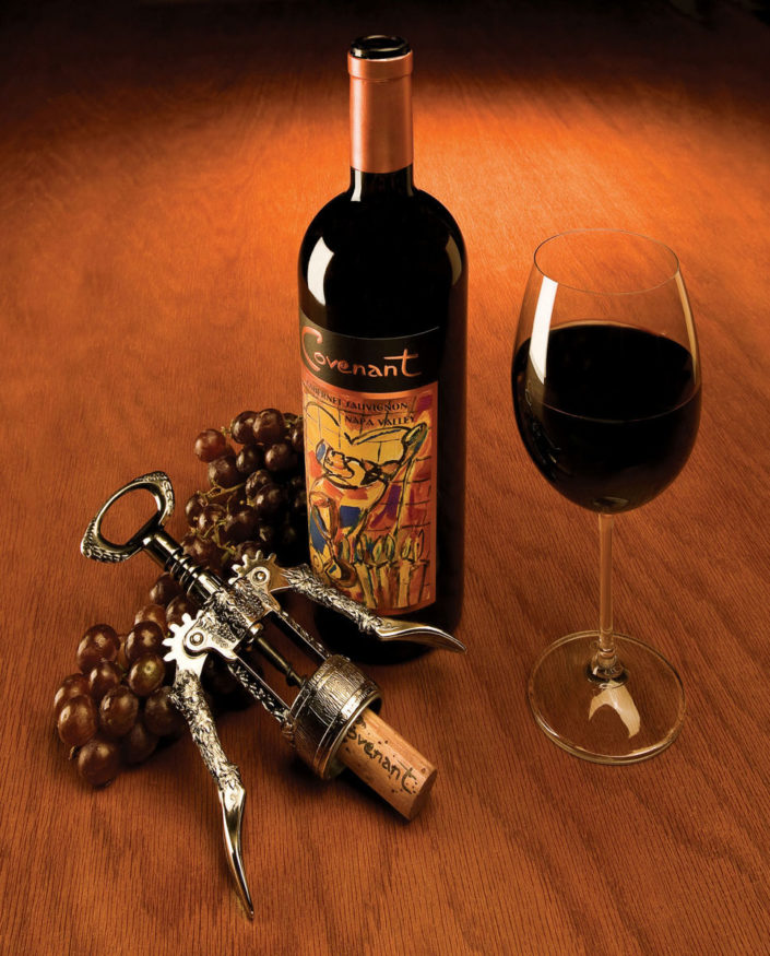 Kosher Wine photograph for client